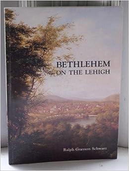 Book Bethlehem on the Lehigh