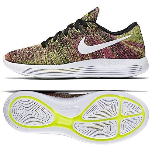Nike Mens Lunarepic Low Flyknit Scarpe Da Corsa Multicolore / Multicolore