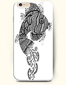 iPhone 6 Plus (5.5 inch) Case, SevenArc Phone Cover Series for Apple iPhone 6 Plus (5.5 inch) Case -- Black White...