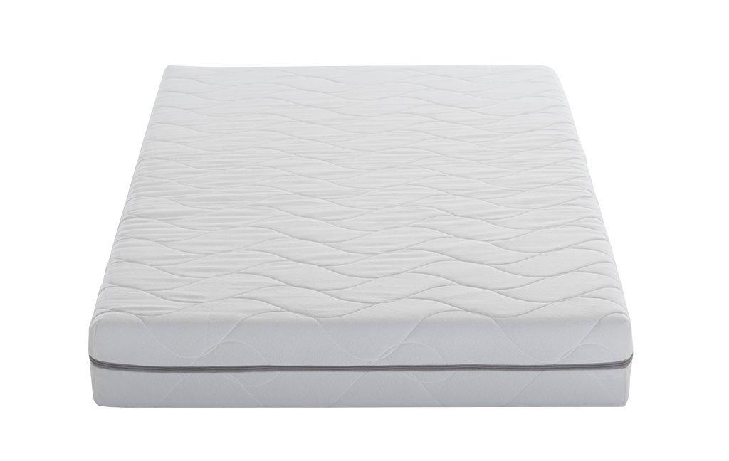 AmazonBasics - Colchón de espuma de 7 zonas extraconfortable, Firmeza Media (H3) - 90 x 200 cm: Amazon.es: Hogar