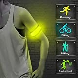 Clearance!!! Glumes LED Armband, 4 Modes Glow Led Slap Bracelets Event Wristband For Men& Women, Vocal Concert Party Props Gift Con Night Safety Lights For Running Jogging Cycling Hiking (Orange)
