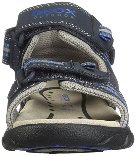 Jr Toe Strada a Dk Sandals Boys' Cf44r Open Royal Geox Navy R5w6WTXqEW