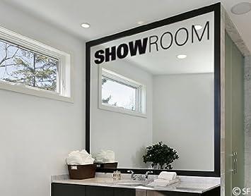 Wandtattoo Showroom uss089 Wandaufkleber Wandsticker Bad Badezimmer ...