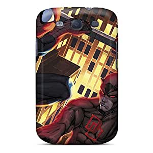 Scratch Protection Hard Phone Cover For Samsung Galaxy S3 (tVo10787ehpM) Allow Personal Design HD Daredevil I4 Pattern
