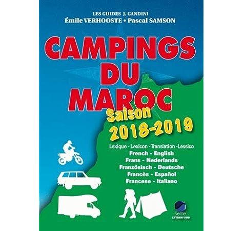 CAMPINGS DU MAROC 18-19 GANDINI.MA+MR Guide J. Gandini: Amazon.es: Verhooste, Emile, Samson, Pascal: Libros en idiomas extranjeros