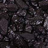 Black Coal Chocolate Rocks Candy Nuggets 1LB Bag by The Nutty Fruit House