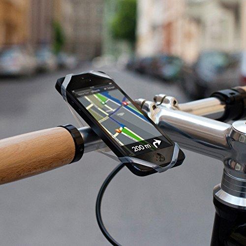 RFX FINN Porta-Smart, fits Smartphone, Clear, Mount, Universal, for - Bike Finn Smartphone Mount