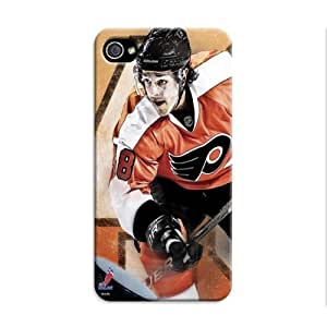 iphone 4 4s Protective Case,Brilliant Hockey iphone 4 4s Case/Philadelphia Flyers Designed iphone 4 4s Hard Case/Nhl Hard Case Cover Skin for iphone 4 4s