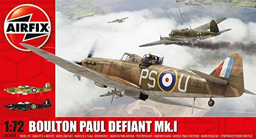 Airfix A02069 Boulton Paul Defiant MK I Plastic Model Kit (1:72nd (1 Scale Model)