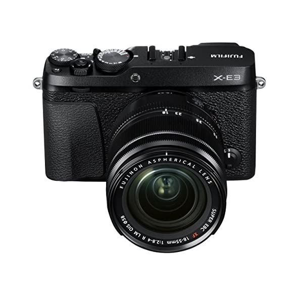 51h9chfEbuL. SS600  - Fujifilm X-E3 Mirrorless Digital Camera w/XF18-55mm Lens Kit - Black (Renewed)