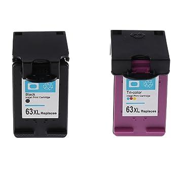 Homyl 2 x ABS Kit 63 x l Cartuchos de Tinta Impresora Tinta ...