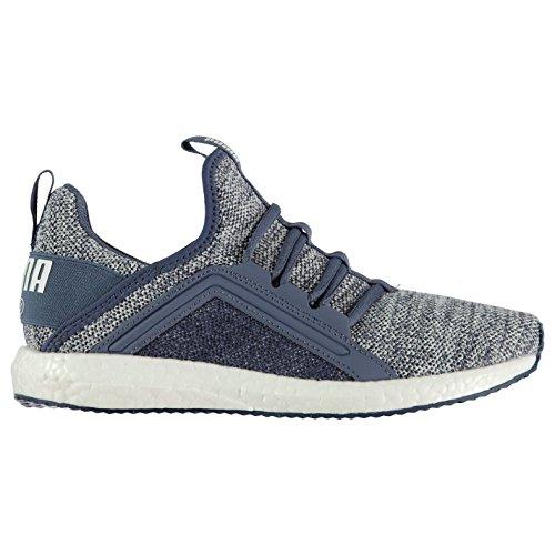 Run de Nrgy Mega à femme Jogging Bleu Knit Chaussures Sneakers Baskets course Puma Shoes Official pied pour 1xYqBOx