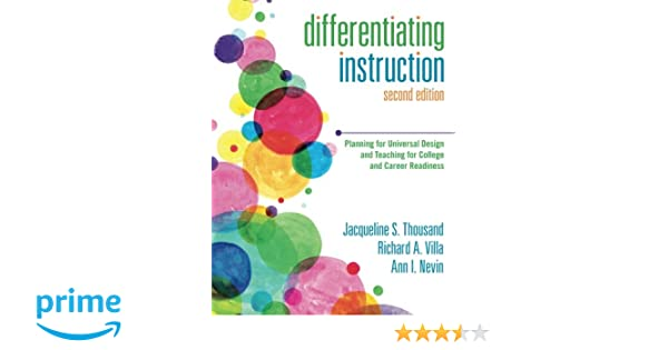 Amazon Differentiating Instruction Planning For Universal