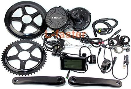 Kit de conversión de montaje medio de bicicleta eléctrica 750W con ...