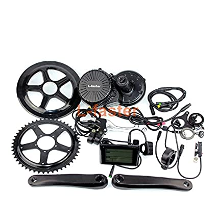 Amazon com : L-faster 750W Electric Bike Middle Mounting