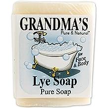 Grandmas Lye Soap by EasyComforts,6oz