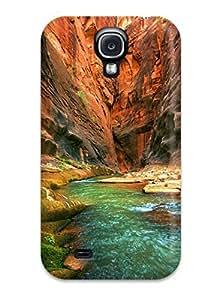 New Fashion Premium Tpu Case Cover For Galaxy S4 - River Earth wangjiang maoyi
