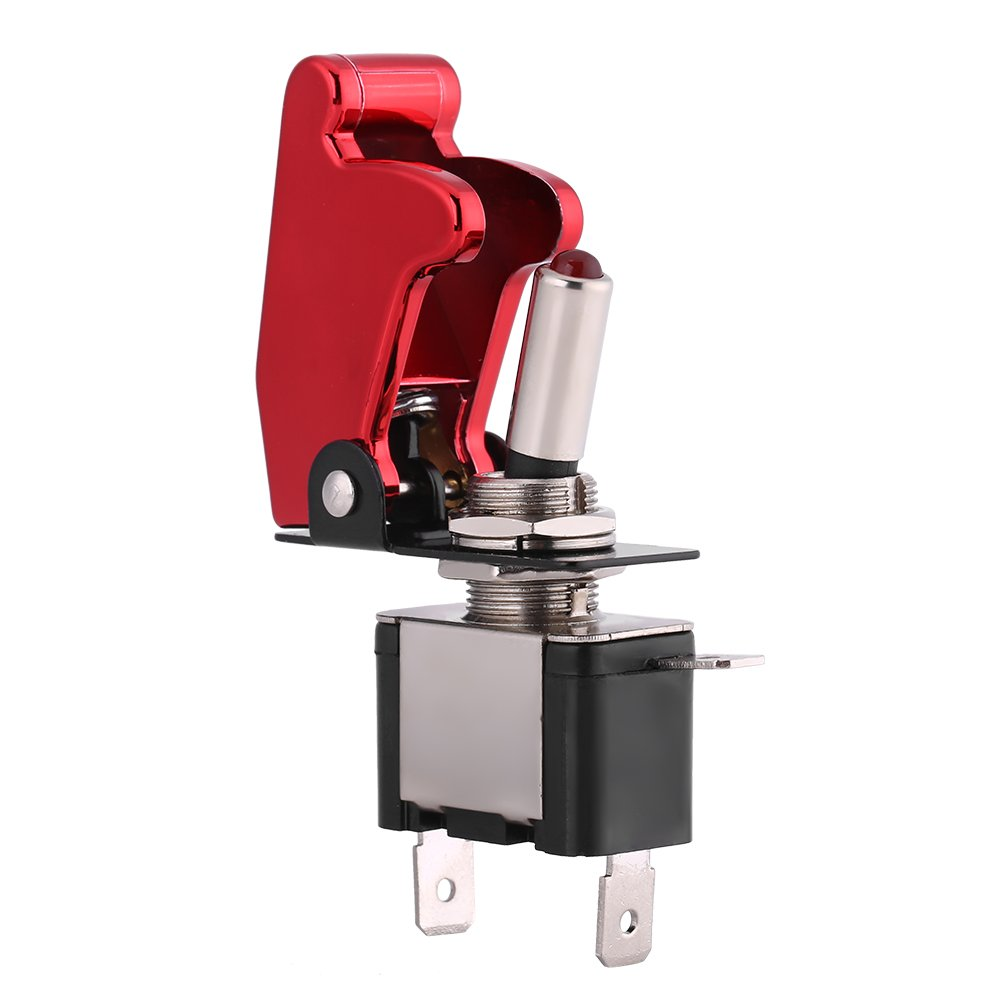 12V Ignition Switch Car Engine Start Push LED Toggle Button Racing Car Ignition Switch