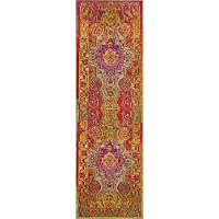 Unique Loom Arte Collection Multi 2 x 7 Runner Area Rug (2 x 6 7)