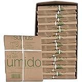 Sumus - Sacchetti di carta per umido e organico biodegradabili e compostabili - 10 litri - 300 sacchetti Bio