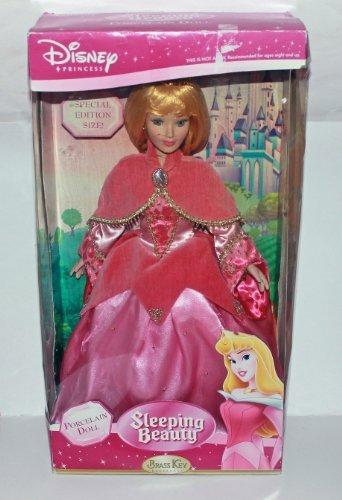 "Brass Key Disney Princess 18"" Sleeping Beauty Porcelain Doll - Special Edition"