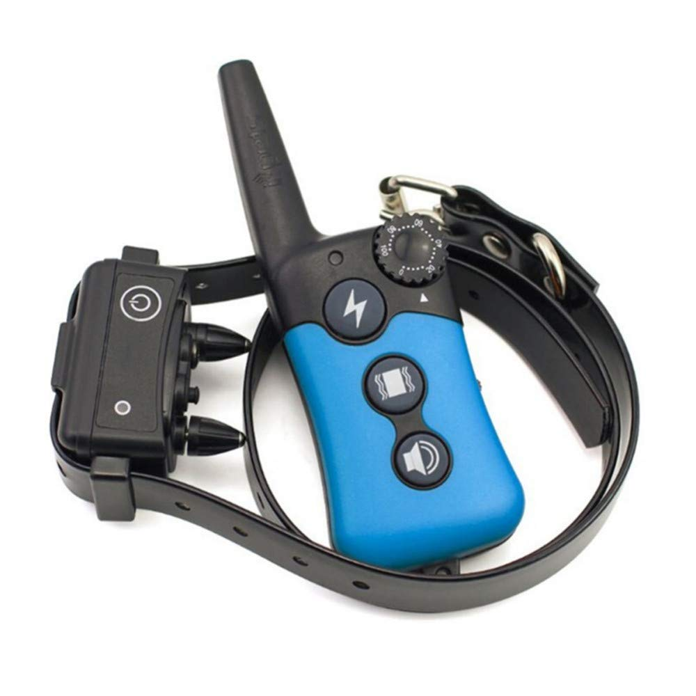 Pet Dog Stop Barking Training Collar Electric Remote Control Vibration Command Dog Barking Collar, Waterproof 500M Anti Barking Device