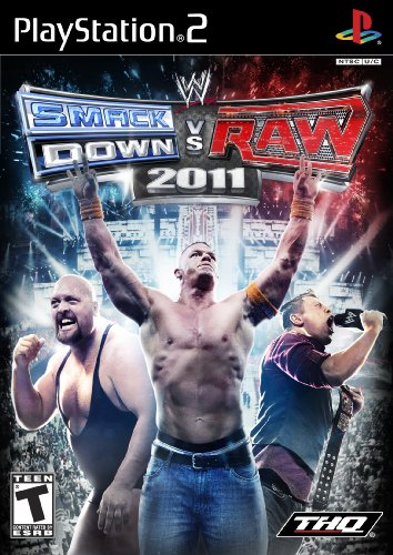 2011 Playstation 2 Game - WWE SmackDown vs. Raw 2011 - PlayStation 2