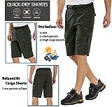 linlon Mens Hiking Shorts Outdoor Casual