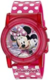 Watches : Disney Minnie Mouse Boutique LCD Pop Musical Watch (Model: MBT3714SR)