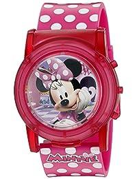 Disney Minnie Mouse Boutique LCD Pop Reloj musical (Modelo: MBT3714SR)