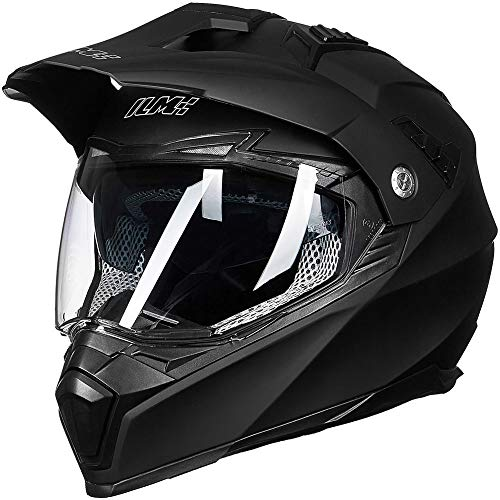 ILM Off Road Motorcycle Dual Sport Helmet Full Face Sun
