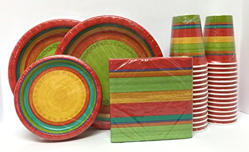 sriracha-bright-colored-heavy-duty-paper-disposable-coordinating-plates-napkins-and-cups-bundle