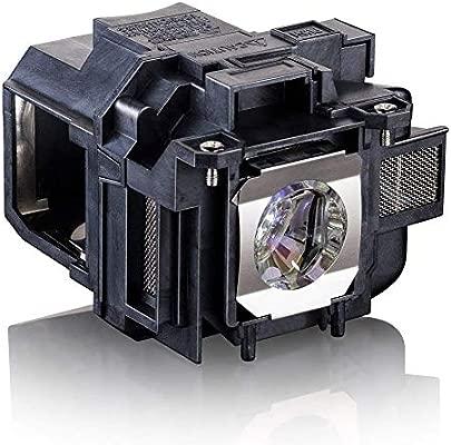 V13H010L78 Lámpara Proyector para Epson PowerLite Home Cinema 2030 2000 730HD 725HD 600 VS230 VS335W EX3220 EX6220 EX7220 EX7230 EX7235 ELPLP78 ...