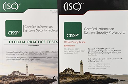 (ISC)2 CISSP Certified Information Systems Security Professional Official Study Guide, 8e & CISSP Official (ISC)2 Practice Tests, (System Test)