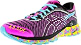 Cheap ASICS Women's Dynaflyte Sport Pink/Aquarium Vibrant Yellow Ankle-High Running Shoe – 5M