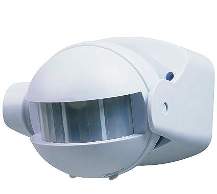 (LA) Oferta Detector Presencia, Sensor de Movimiento Pared Superficie orientable 180º. Compatible