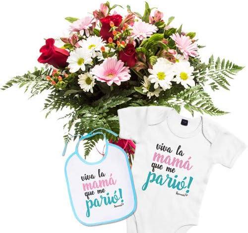 Florclick - Pack Nacimiento- Ramo de flores naturales en 24 horas y envío GRATIS