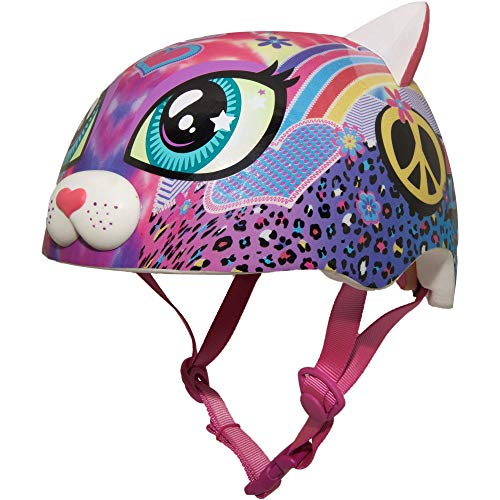 Cheap Raskullz Sparklez Peace Love Kitty Helmet, Pink, Ages 3+