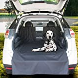Kululu Design Premium Dog Car Seat Cover Hammock Style and Cargo Liner for Cars, Trucks and Suv's. (Cargo Liner)