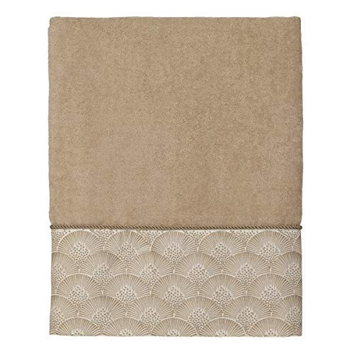 Avanti Linens Deco Shell Bath Towel, One Size, Rattan