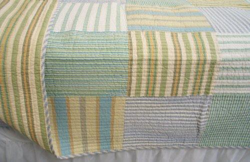 Spa Stripe's Quilt Set (Queen Size)
