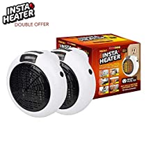 Insta Heater IH-02 Portable Heater, White