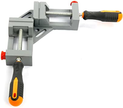 90 Deg Corner Clamp Right Angle Clamp Vice Welding Woodworking Single handle USA