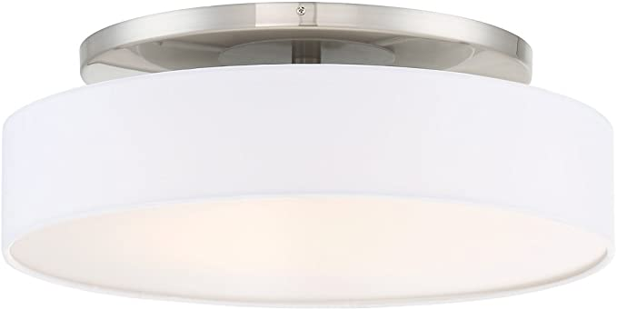 Wac Lighting Fm 13120 Bn Manhattan 20 Led Convertible Semi Flush Mount In Brushed Nickel 20 Inches Amazon Com