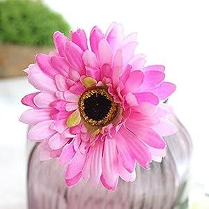 Alcyoneus 1Pc Artificial Fake Silk Gerbera Daisy Flower Home Wedding Party Decor 103
