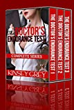 Voyeur Toilet The Doctor's Endurance Test (Complete Series): First Time  Medical Menage