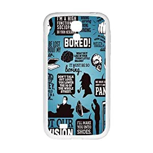 sherlock Phone Case for Samsung Galaxy S4 Case by Maris's Diary