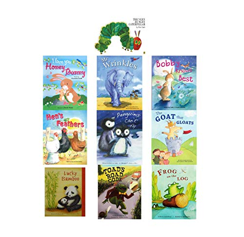 The Very Hungry Caterpillar Alligator 10 Book Set Flat Picture Books -