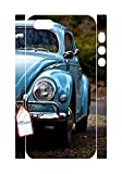 The Car Case for Iphone 5,5S,Blue car phone Case for Iphone 5,5S.
