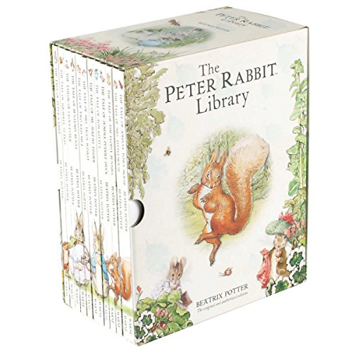 The Peter Rabbit Library: 12 Book Box Set by Beatrix Potter